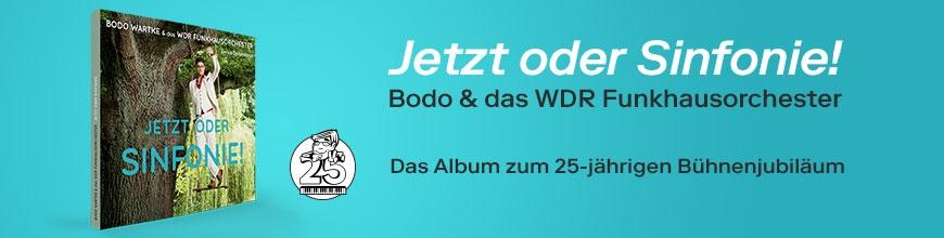 Jetzt oder Sinfonie! - Bodo Wartke und das WDR Funkhausorchester