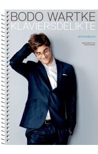 Klaviersdelikte (Notenbuch und Heft) - Cover