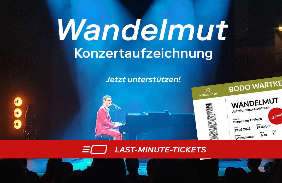Last-Minute-Ticket